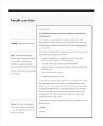 sample resume cover letters u2013 inssite
