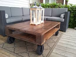 Patio Furniture Kansas City by 18 Best Industrial Pallet Coffee Tables Images On Pinterest