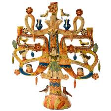 aurelio flores mexican tree of candelabra for sale at 1stdibs