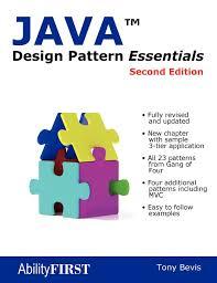 of four design patterns java design pattern essentials second edition tony bevis