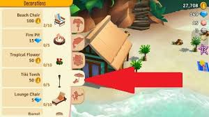 where can i get decorations farmville tropic escape