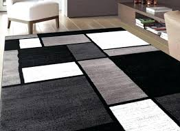 Trendy Area Rugs Furniture Black Gray Area Rugs And Stunning Decor With Home