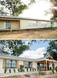 Mobile Home Exterior Makeover by Fixer Upper House Porch And Ranch