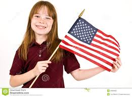 A American Flag Pictures Young Holding An American Flag Stock Photo Image 29995862