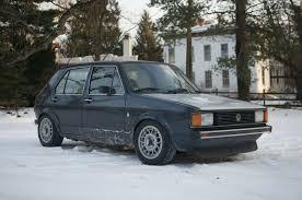volkswagen rabbit pickup stanced vwvortex com need help with tire size on mk1 rabbit