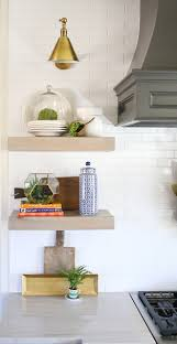 Kitchen Floating Shelves by Home Bunch U2013 Interior Design Ideas