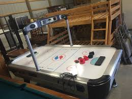 sportcraft turbo hockey table www m37auction com sportcraft turbo air hockey table w accessories