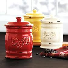 italian canisters kitchen italian kitchen canisters ceramic coffee canisters la table