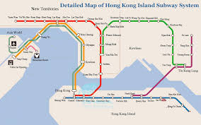 Mtr Map Map Of Hong Kong Island Subway 2010 Hong Kong Island Mtr