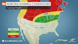 where are the northern lights visible northern lights could be visible in n j areas away from light