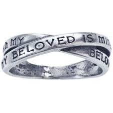 i am my beloved s and my beloved is mine ring i will wait for my purity ring sr481 christian purity ring