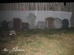 miss halloweenie tombstones