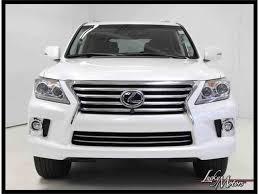 lexus 2014 white 2014 lexus lx570 for sale classiccars com cc 992985