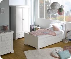 photo de chambre enfant enfant mel blanche set de 3 meubles