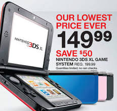 target black friday zoomer 3ds xl is the only game device named a u0027top seller u0027 by target for
