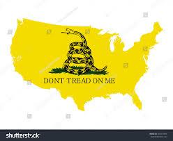 Map If The Usa by Vector Map Usa Rattlesnake Gadsden Flag Stock Vector 482013394