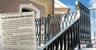 hess ornamental iron specializing in custom metal railings