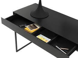 boconcept bureau console contemporaine en mdf rectangulaire avec tiroir