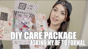 care package for someone sick diy care package asking my bf to formal