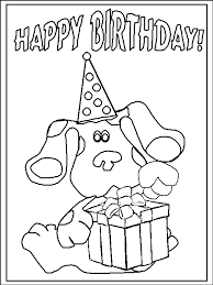 blue clues coloring pages printable blues clues coloring pages