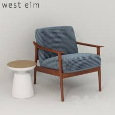 west elm martini table 3d models arm chair west elm mid century show wood upholstered