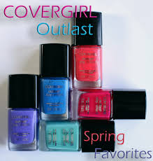 my fave covergirl outlast nail polish shades for spring 2013 all