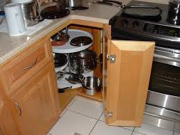 Inside Kitchen Cabinet Door Storage Cool Brown Color Wooden Prefabricated Kitchen Cabinets Doors