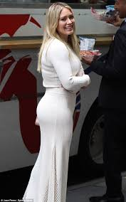 hilary duff shows off a healthy backside in new york city daily