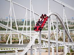 ferrari world unbelievable thrill rides at theme parks in dubai insydo