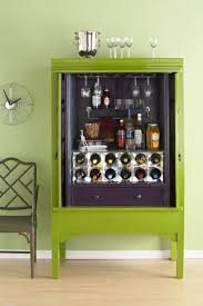 Diy Bar Cabinet Diy Home Bar Cabinet From An Armoire Shelterness