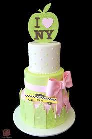nyc themed baby shower cake custom baby shower cakes