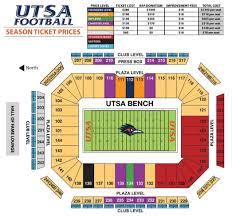 Utsa Map Football Tickets Tickets And Parking Roadrunner Athletic Fund
