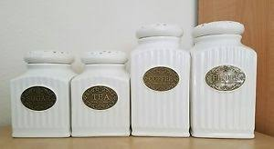 thl kitchen canisters 4 brand new thl shabby chic canisters set home