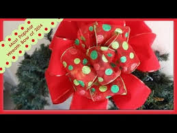 outdoor ribbon outdoor velvet ribbon bow wreath or tree topper bow