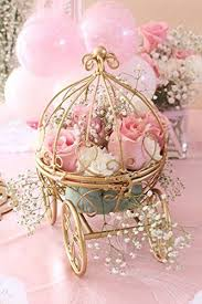 Cinderella Wire Carriage Centerpieces by Inspired By Disney U0027s Fairytale Wedding Cinderella U0027s Carriage Coah