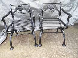 Antique Cast Iron Patio Furniture Vintage Cast Iron Patio Furniture Home Design Ideas
