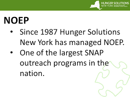 snap outreach in new york state an overview of the snap outreach