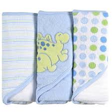 Dinosaur Bathroom Decor by Bathroom Set Towel Spasilk 3 Pack Hooded Towels With Dinosaur