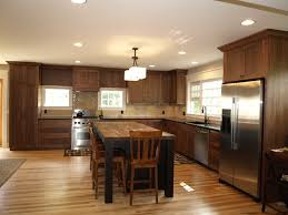 Staining Kitchen Cabinets Cost Light Wood Floors With The Dark Cabinets Could We Stain Our