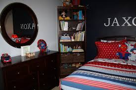 bolling with 5 jax u0027s spiderman room is finally complete