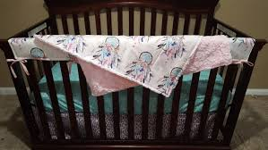 Minky Crib Bedding Crib Bedding Catcher Feathers Weathervanes And