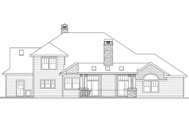 narrow lot luxury house plans craftsman house plans etheridge 30 716 associated designs
