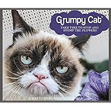 Grumpy Cat Mini Wall Calendar - great gifts for cat lovers grumpy cat calendars 2018