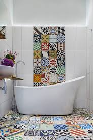 Moroccan Tile Bathroom Mediterranean Tile Bathroom Bathroom Victorian With Wall Bathroom