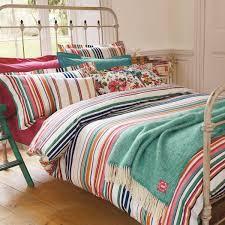 Buy Bedding Sets by Joules Deckchair Stripe Luxury Bed Linen Quality Striped Bedding