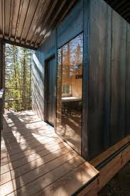 Building A Small Cabin In The Woods by 14 Prefab Micro Cabins In Colorado Woods Showcase Student Design