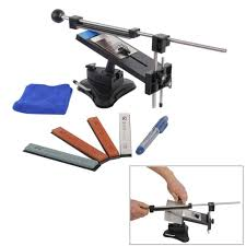 Sharpening Angle For Kitchen Knives by Riorand Professional Kitchen Knife Sharpener System Kit Fix Angle