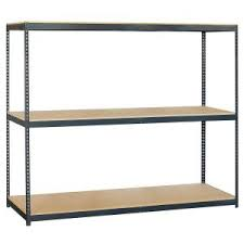 Home Depot Heavy Duty Shelving by Salsbury Industries 9700 Series 72 In W X 84 In H X 24 In D