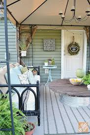 Backyard Room Ideas Patio Ideas Create A Covered Patio With Paint And Thrift Finds