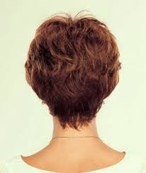 short hairstyle back view images fashionable short hair cuts for women back view